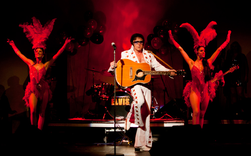 'Suspiciously Elvis Photographs taken by  Karolina Webb who specialises in portraiture and social photography, see further examples of her work at www.karolinawebb.com